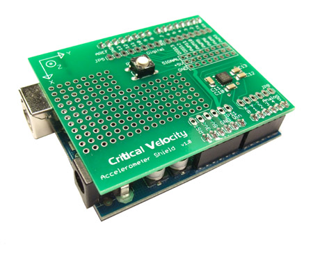 Critical Velocity - Critical Velocity Accelerometer Shield for