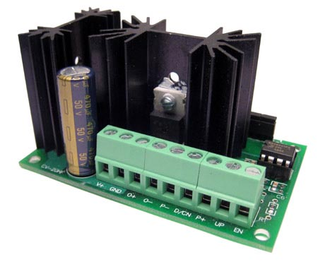 Critical velocity 15 amp high frequency pwm motor speed for 10 amp motor controller